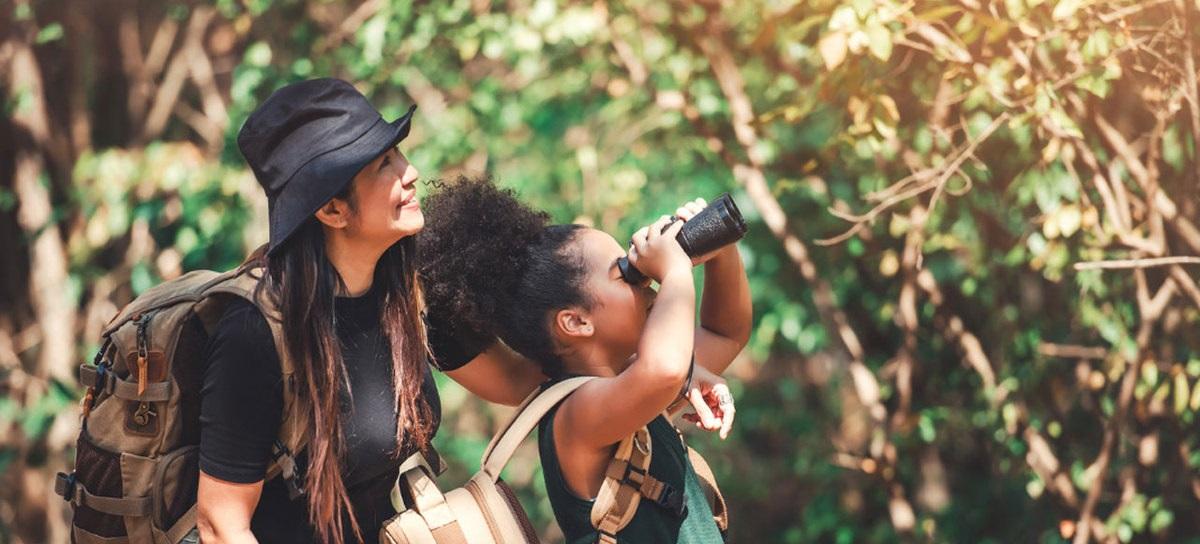 Conectando crianças com a natureza